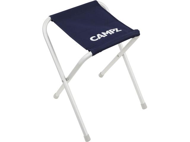 CAMPZ Aluminium Folding Stool blau